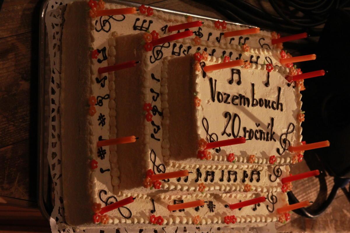 Vozemboušský dort